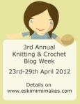2012 Knitting and Crochet Blog Week