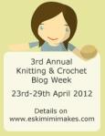 2012 Knitting and Crochet BlogWeek