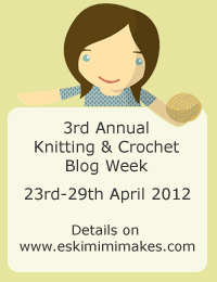 2012 Knitting and Crochet Blog week image
