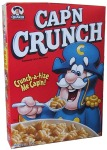 I'm not Cap'n Crunch