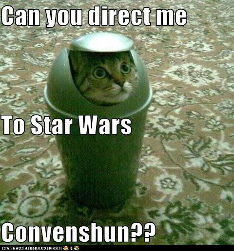 LOLcat Star Wars convention