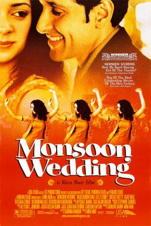 Monsoon Wedding movie poster