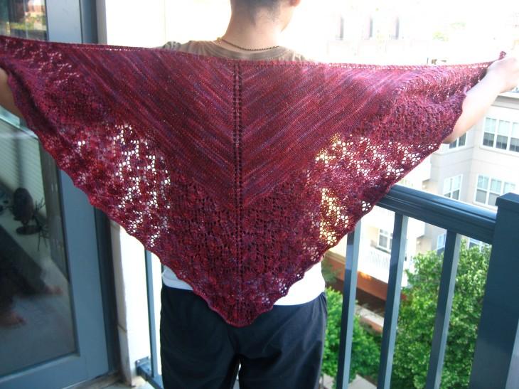 Ishbel shawl