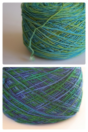 Wollmeise in blue-green