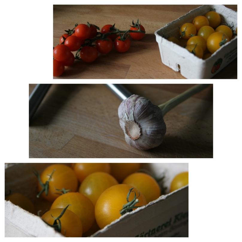 tomatoes & fresh garlic