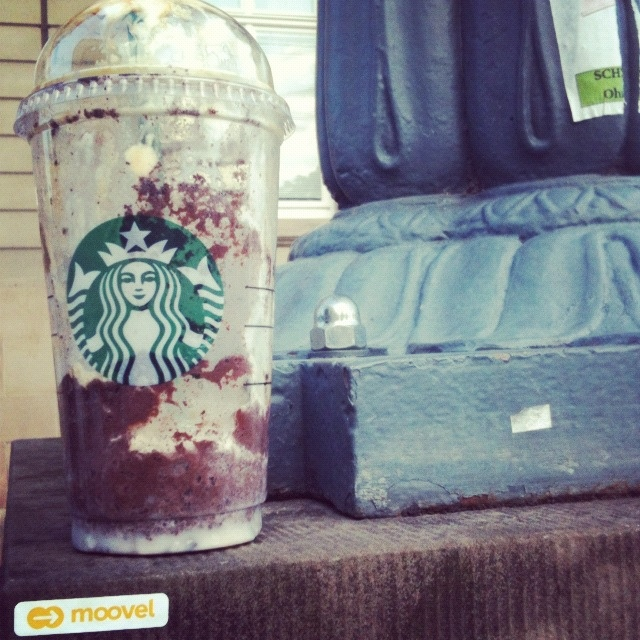empty Starbucks cup