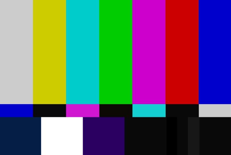 NTSC color bars