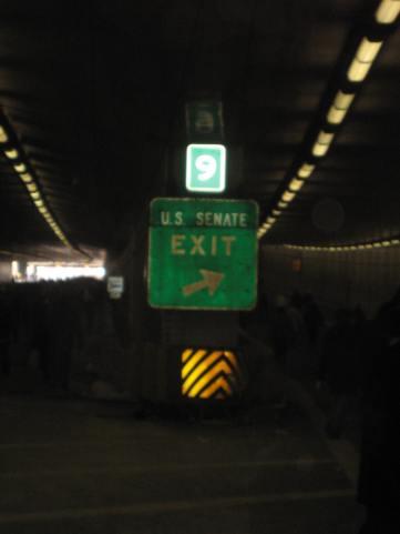 US Senate exit