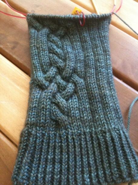 paraphenalia sock pattern