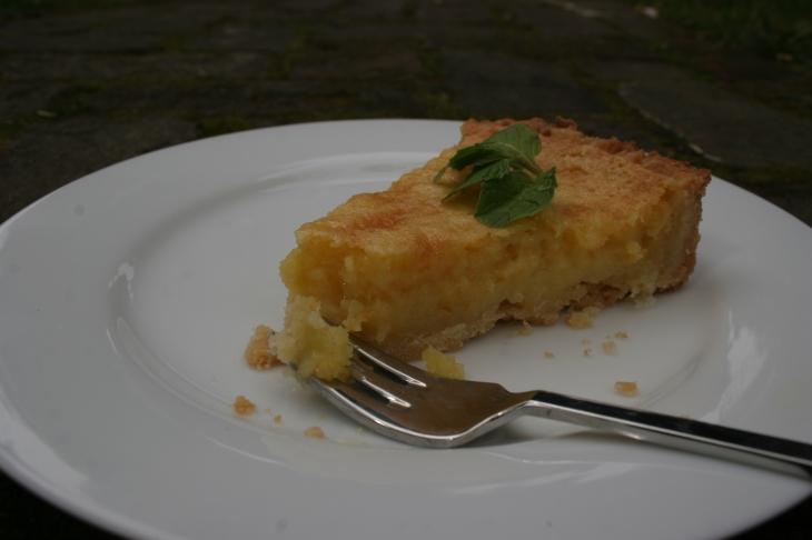 lemon tart bite