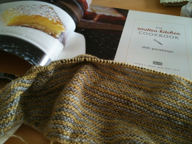 Smitten Kitchen cookbook plus scarf