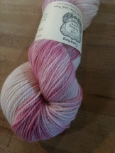 Yarn colorway Berries & Cream