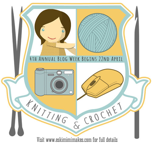 4th Knitting and Crochet Blog Week Graphic